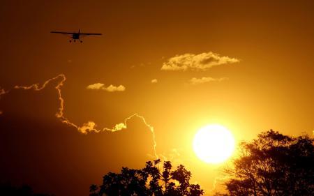 Картинки природа, небо, солнце, закат