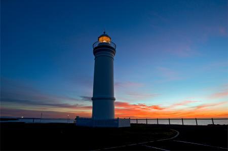 Картинки маяк, море, берег, вечер