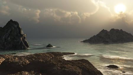Обои пейзаж, природа, nature, sunset