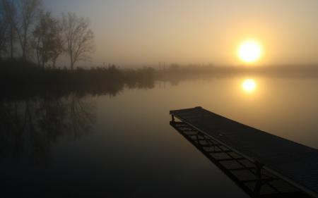 Обои пейзажи, настроение, солнце, утро