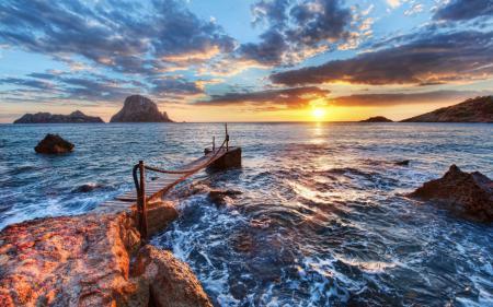 Заставки природы, пейзаж, океан, море
