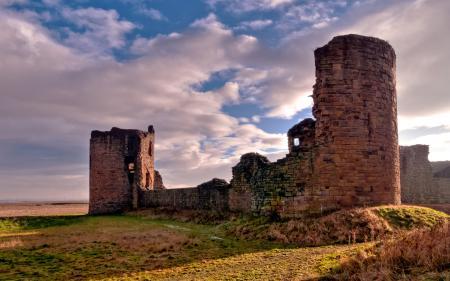 Фотографии пейзажи, стена, стены, замок