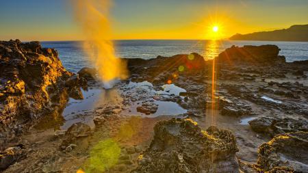 Фото солнце, лучи, закат, рассвет