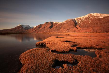 Картинки озеро, гора, зеркало, вода