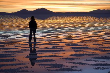 Картинки озеро, закат, природа