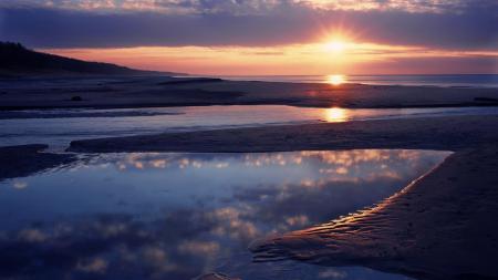 Заставки пляж, песок, вода, побережье