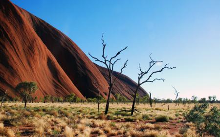Фото пейзажи, пустыня, пустыни, скала