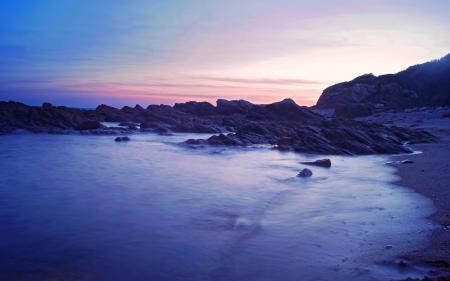 Картинки море, вода, берег, камни