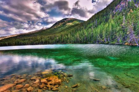 Обои природы, Пейзажи, озеро, деревья