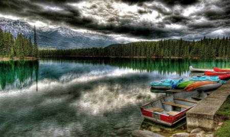 Фотографии природа, Пейзажи, озеро, деревья