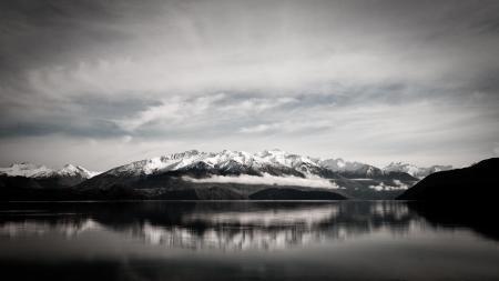 Заставки горы, вода, озеро, небо