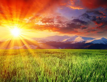 Обои Splendid Landscape, заснеженные, горы, ослепительное