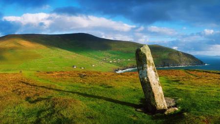 Заставки ирландия, деревня, камень