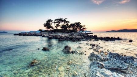 Картинки пейзаж, природа, остров, море