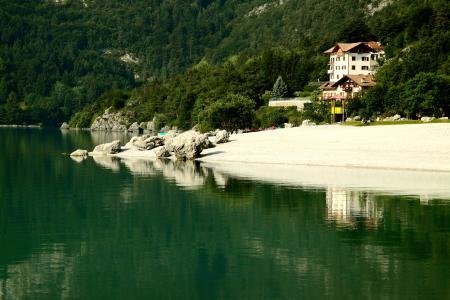 Фотографии Molveno, Italy, озеро, горы