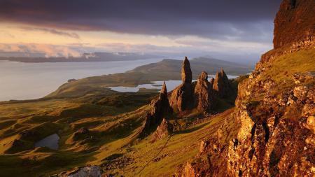 Обои Isle of Skye, Scotland, Шотландия, море