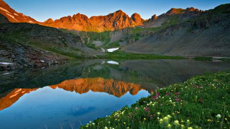 Фотографии Природа, пейзаж, озеро, горы
