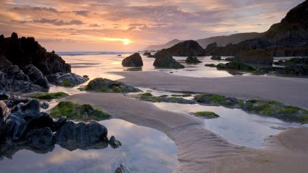 Фотографии Море, берег, камни, песок