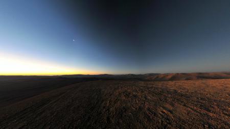 Обои Чили, плато, закат, небо