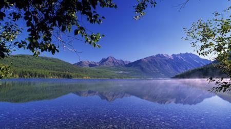 Фото Природа, пейзаж, озеро, горы