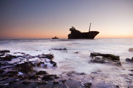 Фотографии океан, море, корабль, вода