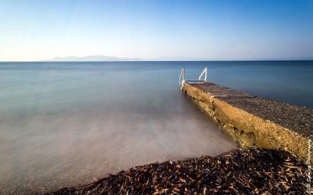 Фотографии море, небо, берег, пейзаж