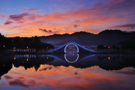 Картинки Китай, Тайбэй, Тайвань, озеро