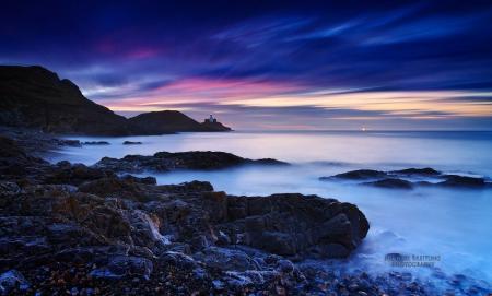 Заставки небо, облака, море, берег