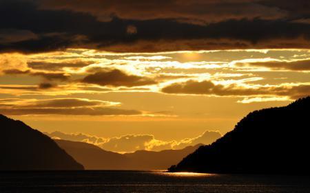 Фотографии ночь, озеро, горы, пейзаж