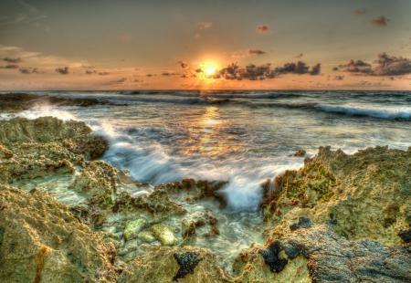 Обои Maui, Hawaii, океан, закат