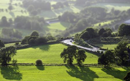 Картинки долина, дорога, пейзаж