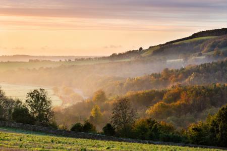 Обои британия, англия, осень, холмы