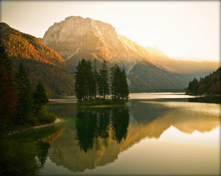Заставки природа, осень, горы, лес
