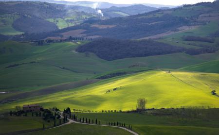 Фотографии долина, поля, леса