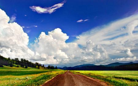Фотографии пейзажи, обои, природа, дорога
