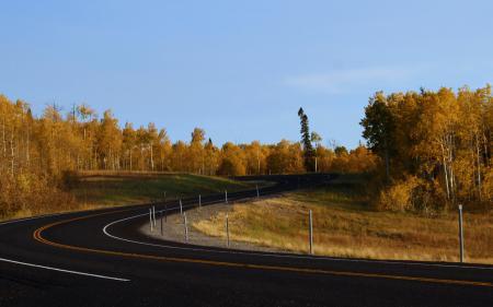 Фото пейзажи, дорога, дороги, повороты