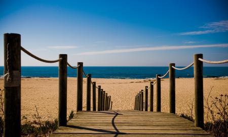 Заставки море, пляж, дорожка