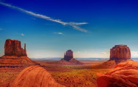 Обои Долина монументов, штат Юта, США, скалы