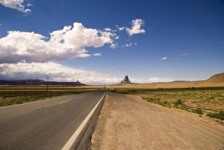 Фото Пейзаж, дорога, небо, дорога