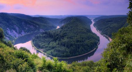 Фотографии река, саар, германия, змея