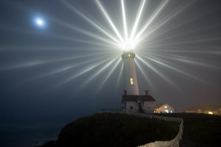 Заставки ночь, маяк, побережье, свет