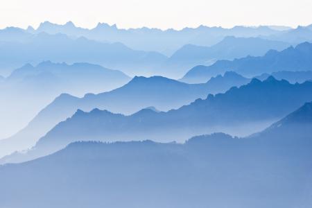 Фото горы, холмы, пейзаж, туман