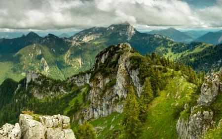 Картинки пейзаж, природа, горы, зелень