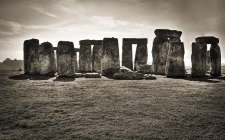 Заставки stonehenge, Стоунхендж, пейзаж, природа