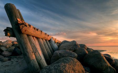 Заставки природа, берег, море, камни
