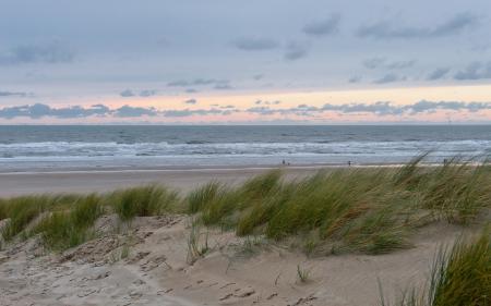 Фотографии закат, море, дюны