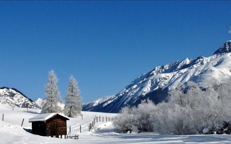 Картинки зима, дом, дорога, снег