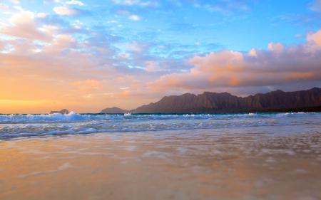 Картинки море, берег, скалы