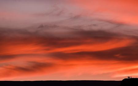 Картинки небо, закат, пейзаж