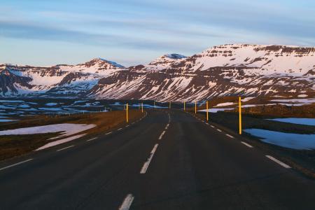 Картинки дорога, горы, пейзаж